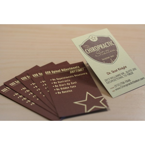 Linen Business Cards GRANNYSTONE