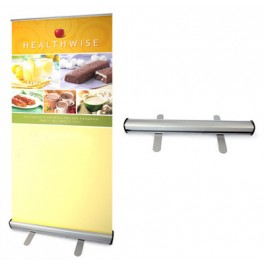 Retractable Banner with Stand - Indoor