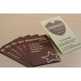 Linen Business Cards